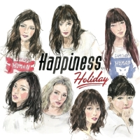 Happiness 8th Single「Holiday」【CD+DVD】ジャケ写